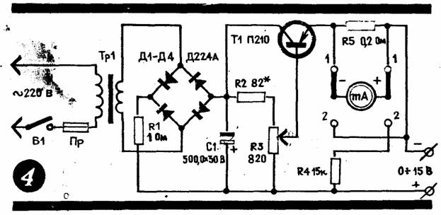 Зарядное устройство с транзистором для автомобильного аккумулятора своими руками